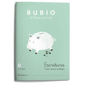 Escritura RUBIO 0 (preescritura) +3