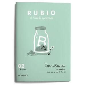 Escritura RUBIO 02 +4