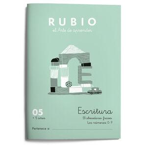 Escritura RUBIO 05 +5
