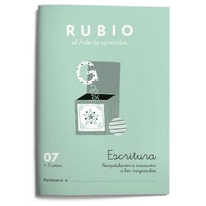 Escritura RUBIO 07 +5