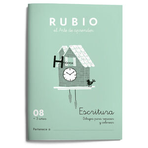 Escritura RUBIO 08 (dibujos) +3