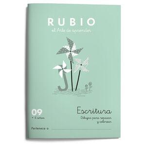 Escritura RUBIO 09 (dibujos) +4