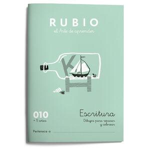 Escritura RUBIO 010 (dibujos) +5