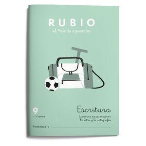 Escritura RUBIO 9  8 años