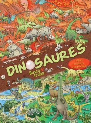 Dinosaures. Busca i troba