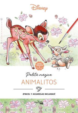 Arteterapia. Paleta mágica. Animalitos Disney