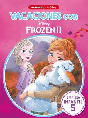Vacaciones con Frozen II (Libro educativo Disney con actividades)