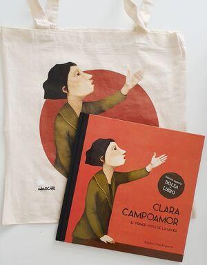 Pack Clara Campoamor bolsa