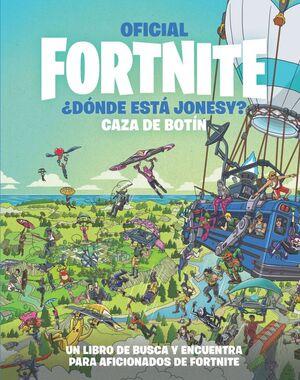 OFICIAL FORTNITE ¿DONDE ESTA JONESY? CAZA DE BOTIN