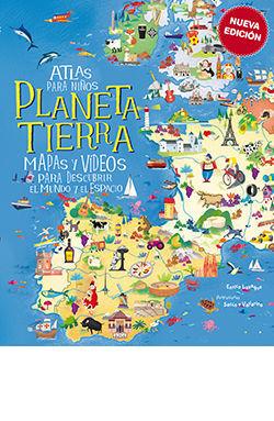 ATLAS PARA NIÑOS, PLANETA TIERRA -NUEVA EDICION