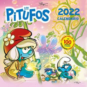 Calendario los Pitufos 2022