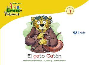 El gato Gatón G (ga, go, gu)