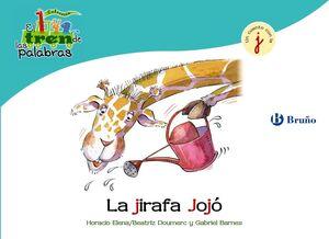 La jirafa Jojó (J)