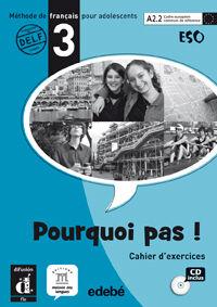 POURQUOI PAS 3 Cahier