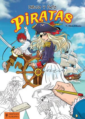 Dibujo y pinto piratas