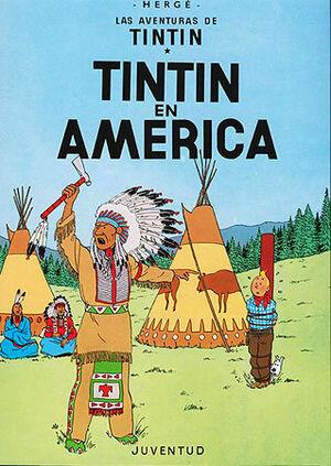 Tinti 3 - Tintín en América