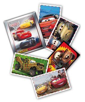 Blister cars 3 album y 15 sobres