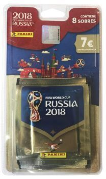 World cup 2018 blister 8 sobres