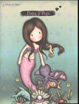 PINTA Y PEGA GORJUSS - SIRENA