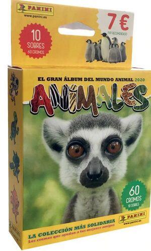 BLISTER 10 SOBRES ANIMALES 2020