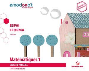 Matemàtiques 1 EPO. Espai i forma - Emociona't (VAL)