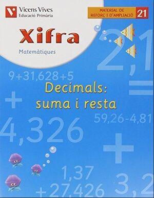 XIFRA 21 (DECIMALS +/-) REFORC I AMPLIACIO - 1R CI