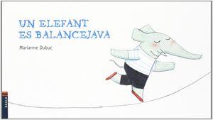 Un elefant es balancejava