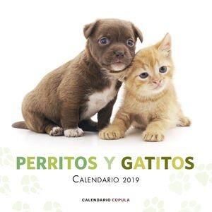 CALENARIO PERRITOS Y GATITOS 2019