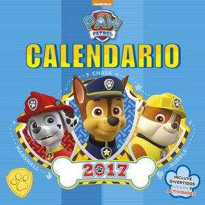 Calendario Paw Patrol 2017