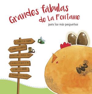 Grandes fábulas de La Fontaine para los más pequeños