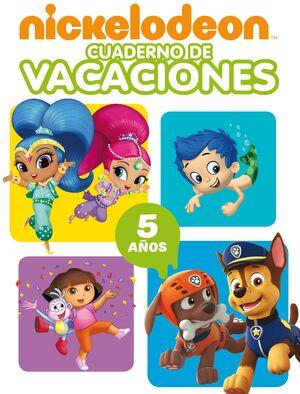 Nickelodeon. Cuaderno de vacaciones - 5 años