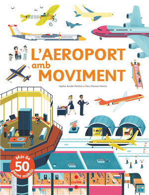 L'aeroport amb moviment