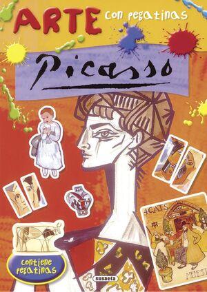 Picasso - Arte con pegatinas
