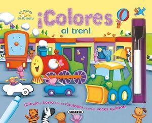 ¡Colores al tren!