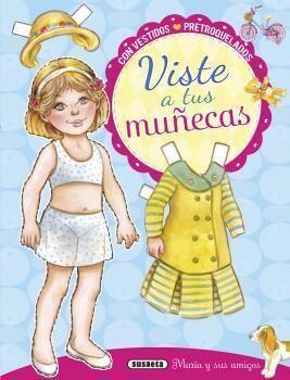 VISTE A TUS MUÑECAS (AZUL) 3223.01