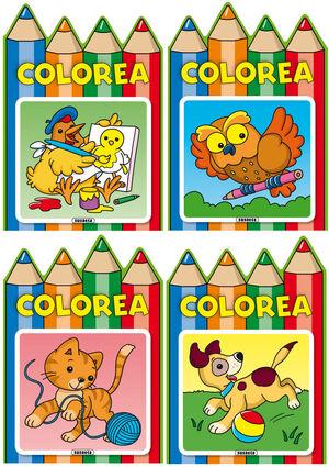 Colorea (4 títulos)