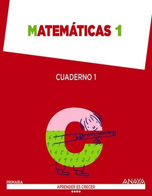Matemáticas 1. Cuaderno 1.