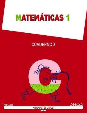 Matemáticas 1. Cuaderno 3.