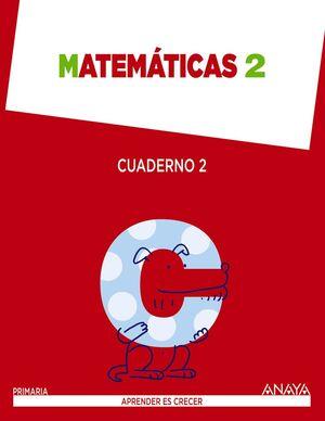 ANT/(15).CUAD.MATEMATICAS 2-2ºPRIM.(APRENDER ES CR