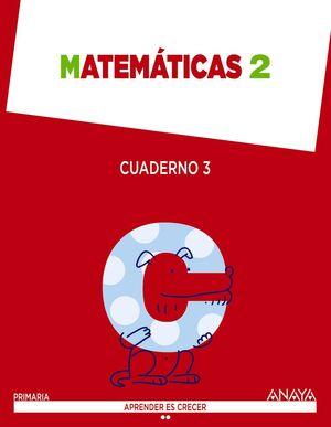 ANT/(15).CUAD.MATEMATICAS 3-2ºPRIM (ARG/AST/GLZ/VA