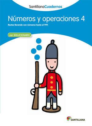 NUMEROS Y OPERACIONES 4 ED12.