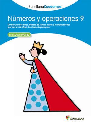 NUMEROS Y OPERACIONES 9 ED 12