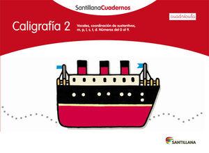 CALIGRAFIA CUADRICULA 2  ED12