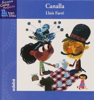Canalla - Letra Lligada