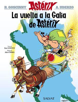 La vuelta a la Galia de Astérix