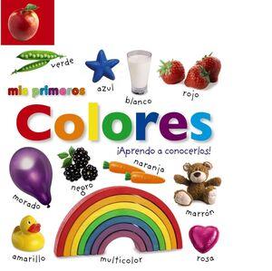 Mis primeros colores. ¡Aprendo a conocerlos!