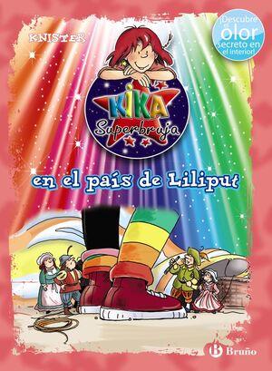 KIKA SUPERBRUJA EN EL PAÍS DE LILIPUT (ED. COLOR)