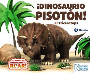 IDINOSAURIO PISOTÓN! EL TRICERATOPS