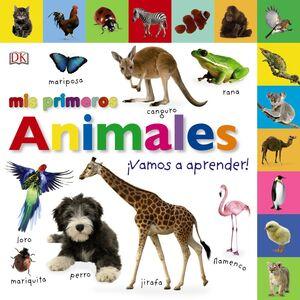 Mis primeros animales. ¡Vamos a aprender!