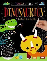 Rasca y Juega. Dinosaurios